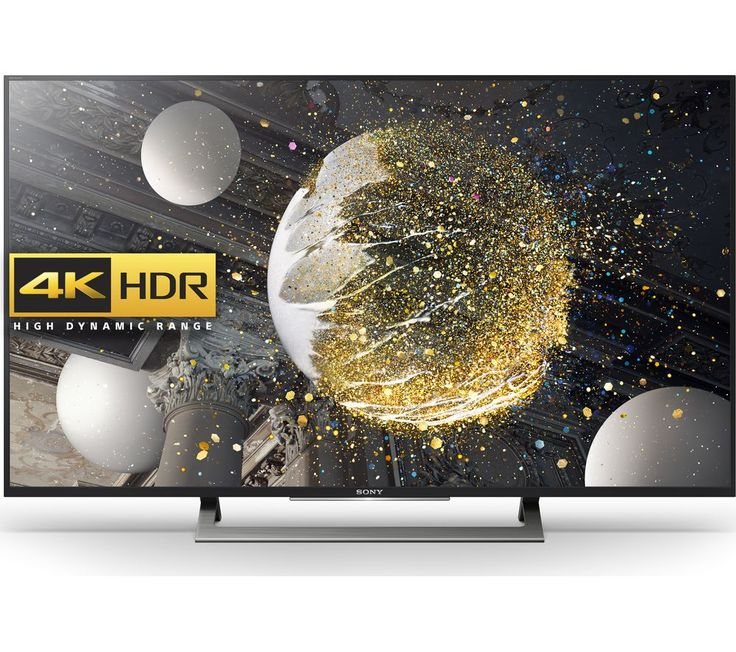 "SONY  KD49XD8088BU Smart 4K Ultra HD HDR 49"" LED TV Price: £ 629.00 Top features - Experience real-life colours and exceptional detail with 4K HDR - Discover the best entertainment in an instant with Smart TV apps - Get the best picture all the time thanks to 4K upscaling - Dynamic Contrast Enhancer for deeper blacks - Display your 4K TV in style with a modern stand Real-life colours and..."