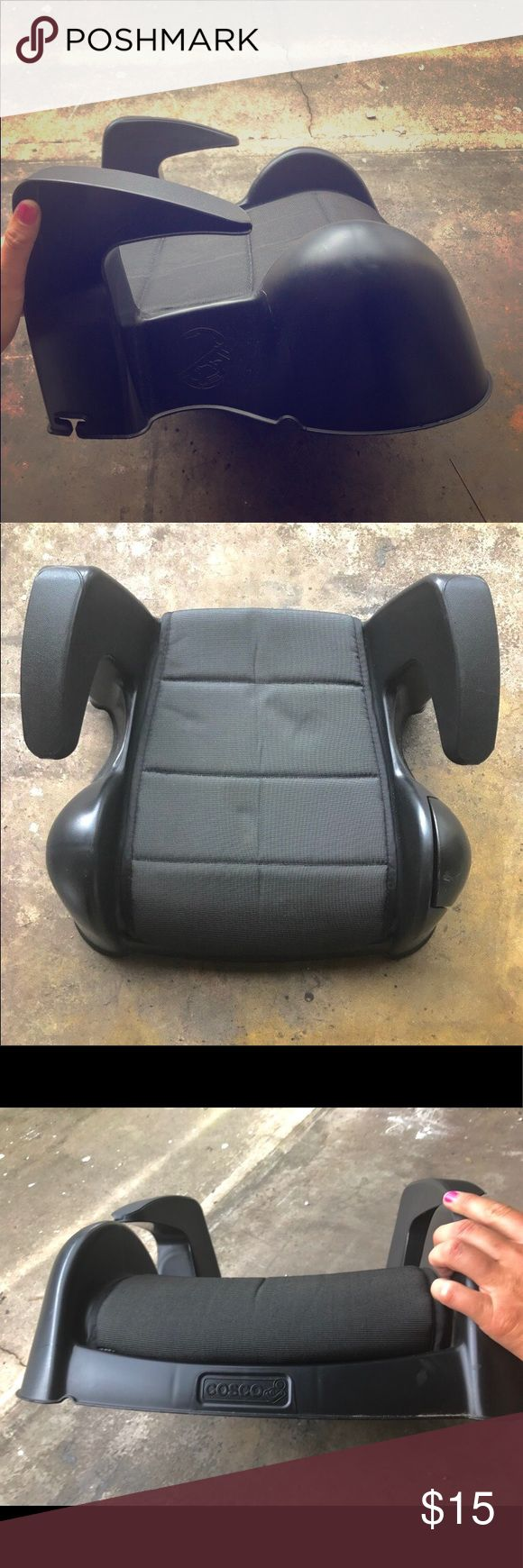 Grey COSCO Child's Booster Seat! 🐝🐢 Grey COSCO Child's Booster Seat! 🐝🐢  Retail: $39.95 used - New you'll pay MUCH more!   🍃EXCELLENT used condition!! 🍃FLAWS- Just a minor scratch or two (nothing noticeable), needs to be whipped down a little from being in storage (which I can do before shipping), & I zoomed in on a picture that shows an indent from something laying on seat. 🐢  💛 Feel free to comment me if you have any questions and hit the OFFER button if you love the item but not…