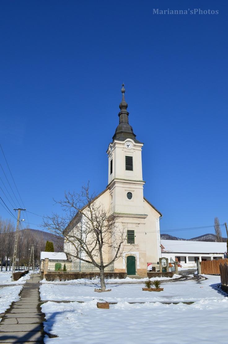 Reformed Church, Diósjenő, Nógrád county, Hungary