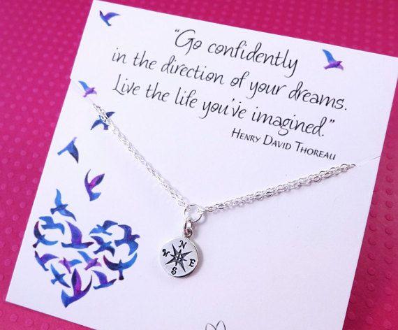 Compass BRACELET, friendship bracelet, college graduation, compass jewelry, graduation gift for her, high school graduation gift