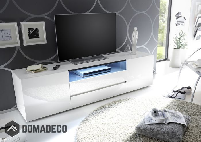 Vicenza 185 Lowboard Tv Stand Two Doors Two Drawers