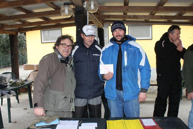 I Laghi Tensi hanno ospitato l'edizione 2015 di febbraio della Todeschini Champions Feeder a livello individuale organizzata dal negozio Todeschini