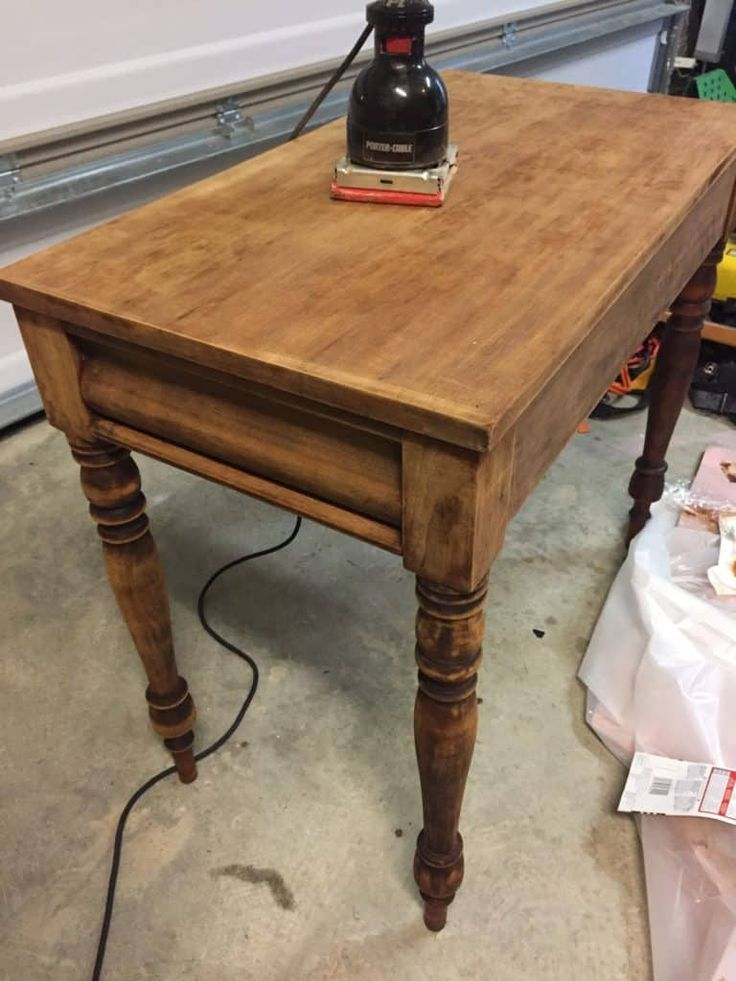 How To Strip Furniture With This Easy Tip Sanding Furniture