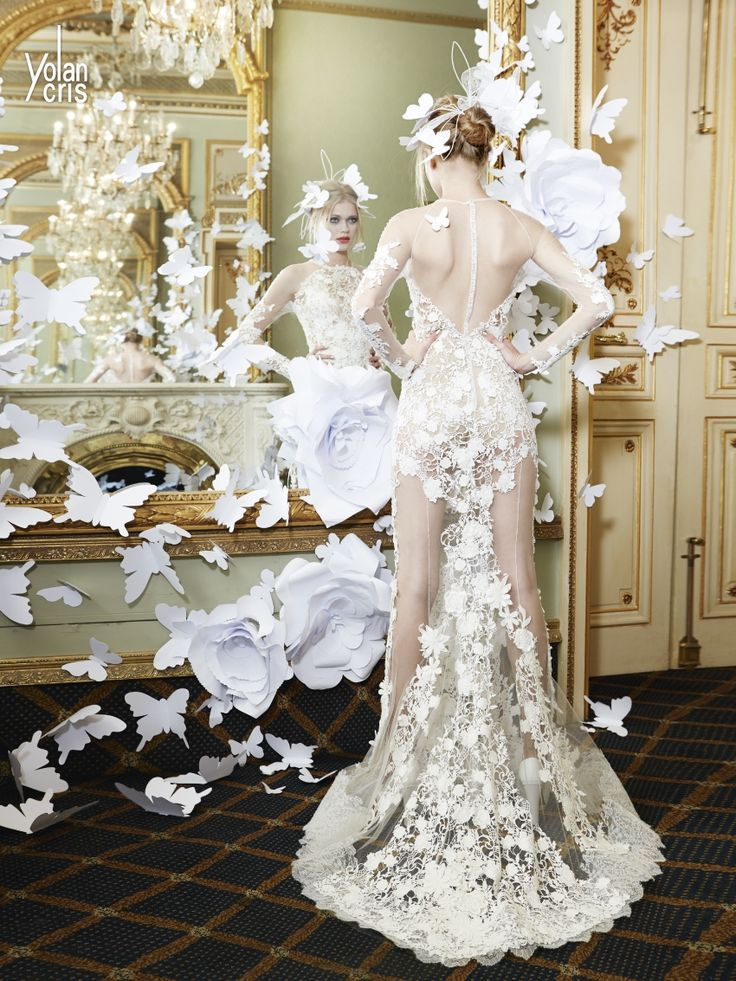 YolanCris wedding dresses in London - View wedding dresses by YolanCris online and find your perfect Yolan Cris wedding gown at London Bride Couture.