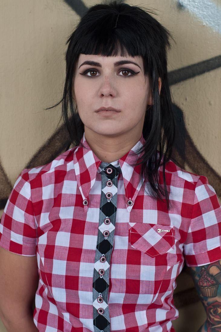 Style skinhead girl dress