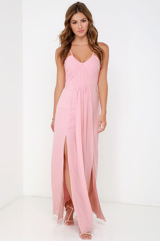 25  best ideas about Pink maxi dresses on Pinterest | Pink maxi ...