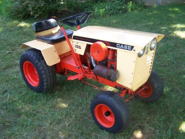 Quite Small garden tractors vintage or antique opinion you