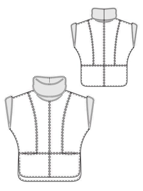 Burda Leather Tunic #132