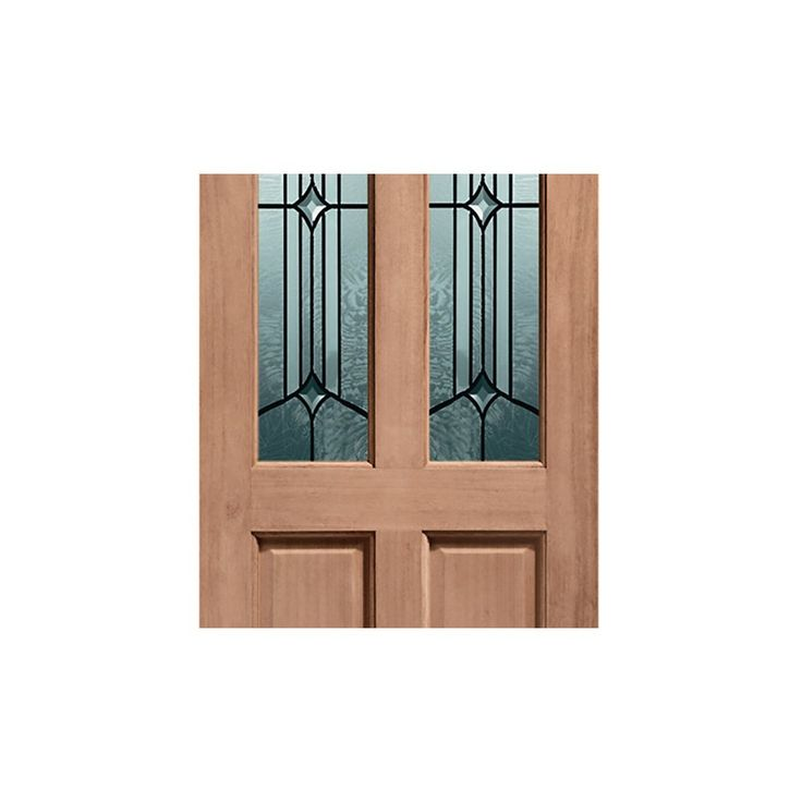 Richmond External Wooden Door is Dowel Jointed with Donne Style Double Glazing - Image 4