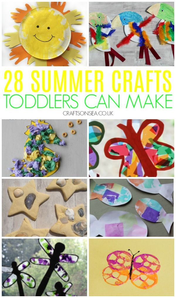28 Easy And Fun Summer Crafts For Toddlers Toddler Crafts