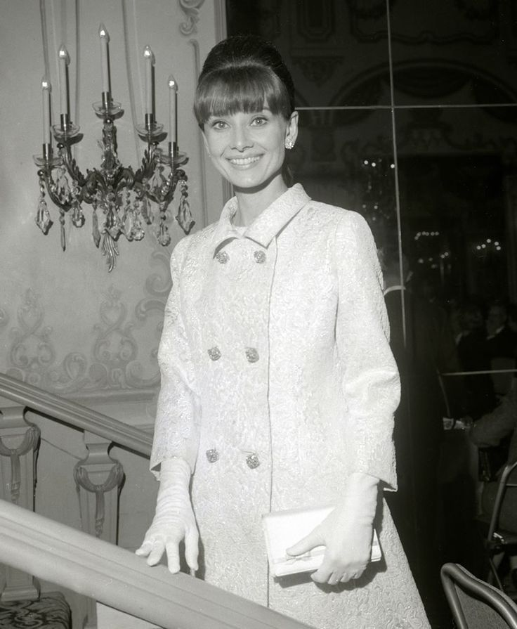 October 1964, at the New York premier of My Fair Lady.