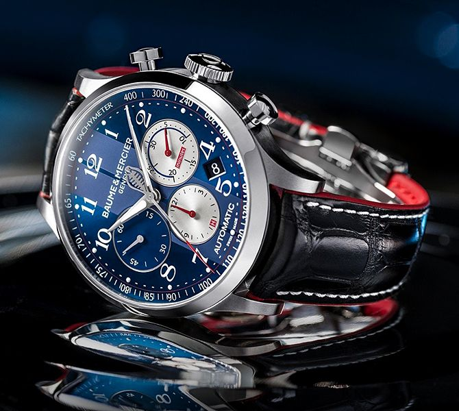 The Baume & Mercier Capeland Shelby Cobra - Limited Edition