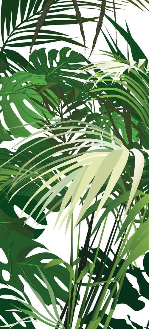 Carta da parati motivi natura / moderna / su misura - JUNGLE © - LGD01