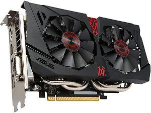 ASUS  STRIX-GTX960-DC2OC-2GD5  GeForce GTX 960  2GB  128-Bit  GDDR5  PCI Express 3.0  HDCP Ready Video Card