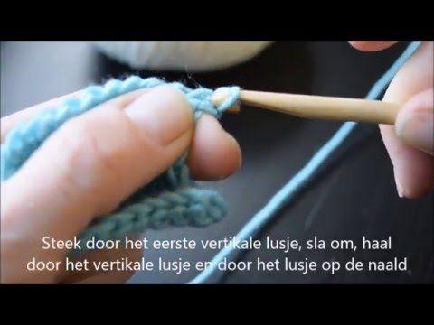 Leren haken de basis: lossen maken (ketting haken chain stitch) voor absolute beginners - YouTube