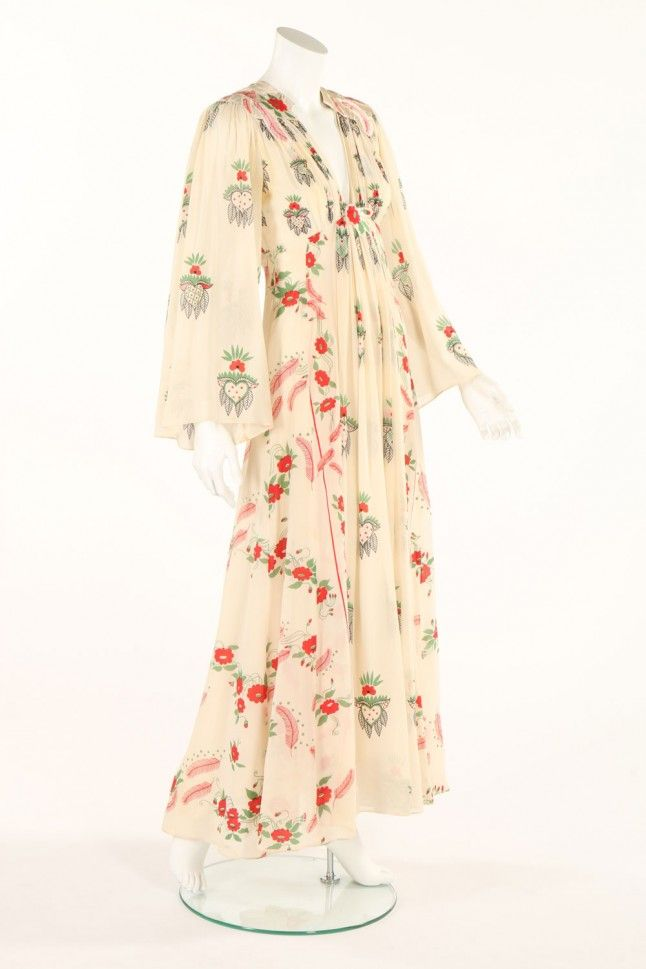 Celia Birtwell's Ossie Clark Dresses To Be Auctioned | Marie Claire