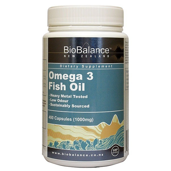 BioBalance Omega 3 Fish Oil is sourced from a world-leading Norwegian company and bottled in New Zealand. Stringent quality regulations ensure that this oil is sustainably sourced and of the highest quality and standard.  Omega 3 fatty acids are a primary component of the body, in particular the brain cerebral cortex and retina.