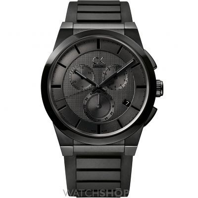 Mens Calvin Klein Dart Chronograph Watch K2S374D1