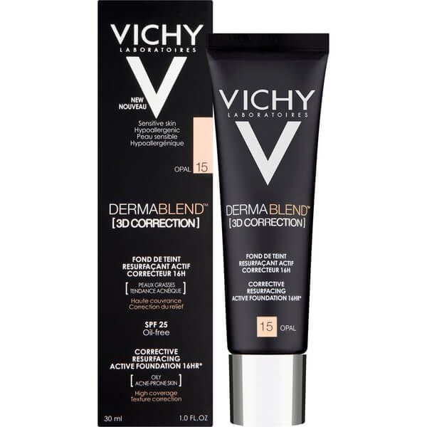Vichy Dermablend 3D Correction Resurfacing Active Foundation SPF 25 30ml