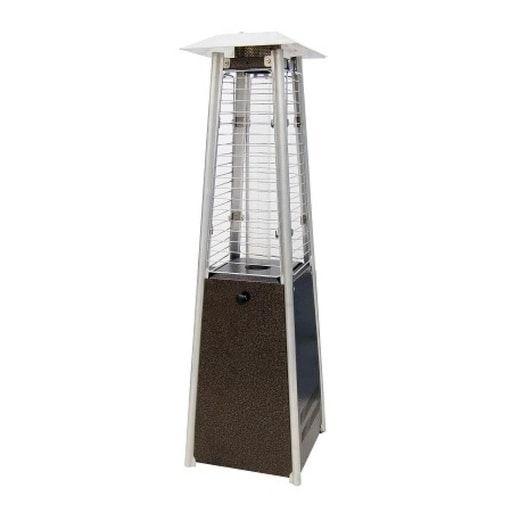 Sunheat Phsqgh-TT Tabletop Patio Heater with Decorative Variable Flame 11,000 (Glass), Outdoor Décor