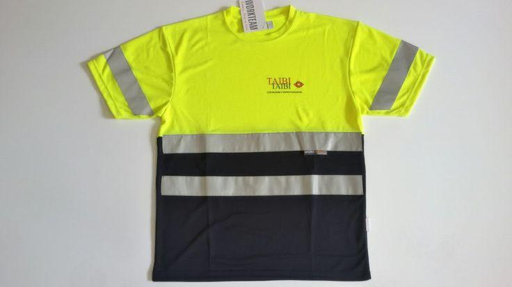 Gedshop - abbigliamento alta visibilità con stampa serigrafa a due colori. http://www.gedshop.it/abbigliamento-da-lavoro-alta-visibili…
