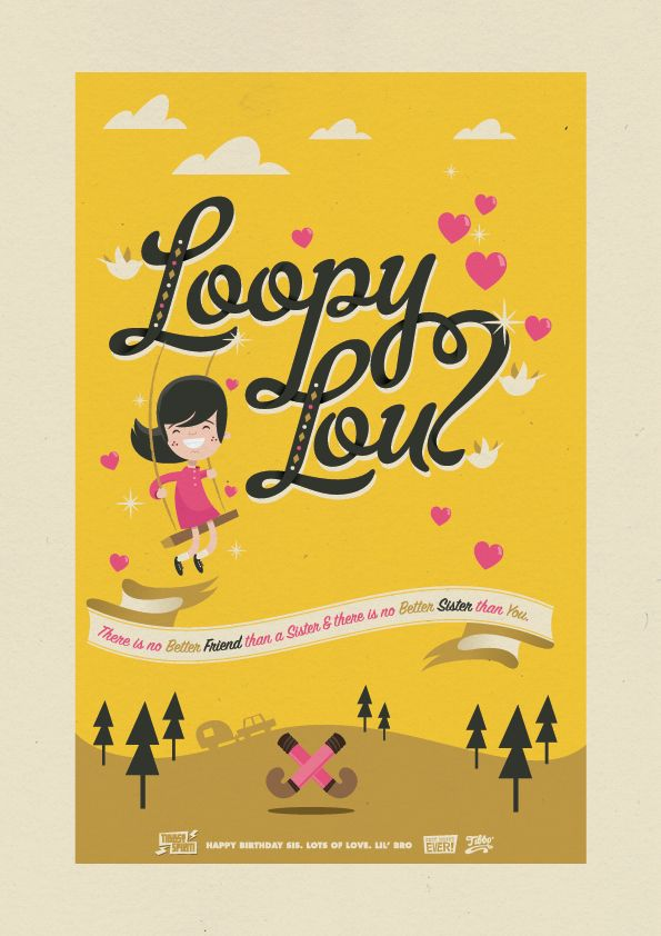 Loopy Lou - Tibbo, Motion Graphic Designer