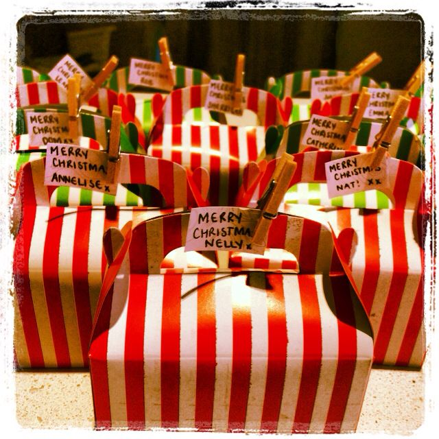 Christmas goodies xx @Jessica Palmer