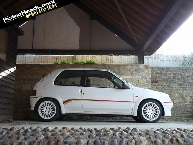Peugeot 106 Rallye(S1) 1.3 8v