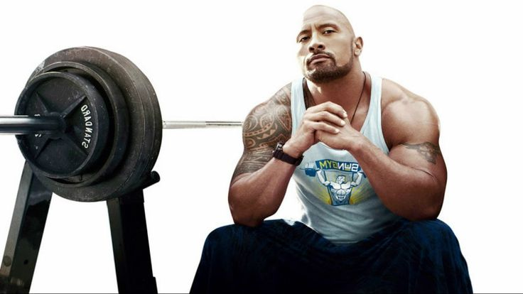 """How Dwayne """"the Rock"""" Johnson Stays Ripped   The Rock Voted Worlds Sexie..."""