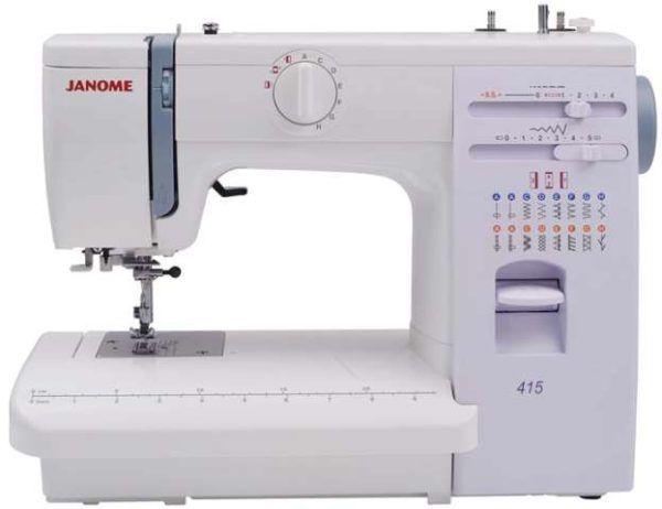 Janome 415 Sewing Machine Instruction Manual Sewing