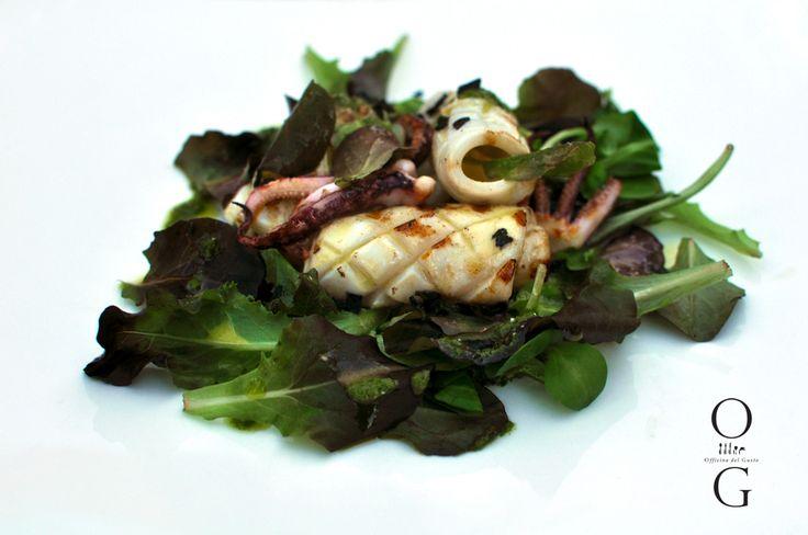 Grilled Calamary / Photo by Irina Eller / irinaeller.com #wine #food #italy #restaurant #sardinia #sardegna #olbia