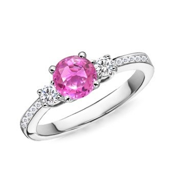 The 25 best Pink engagement rings ideas on Pinterest Pink