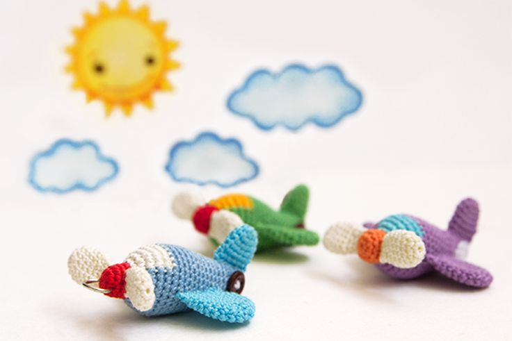 Airplan Amigurumi - Free Russian and English Pattern (scroll down)