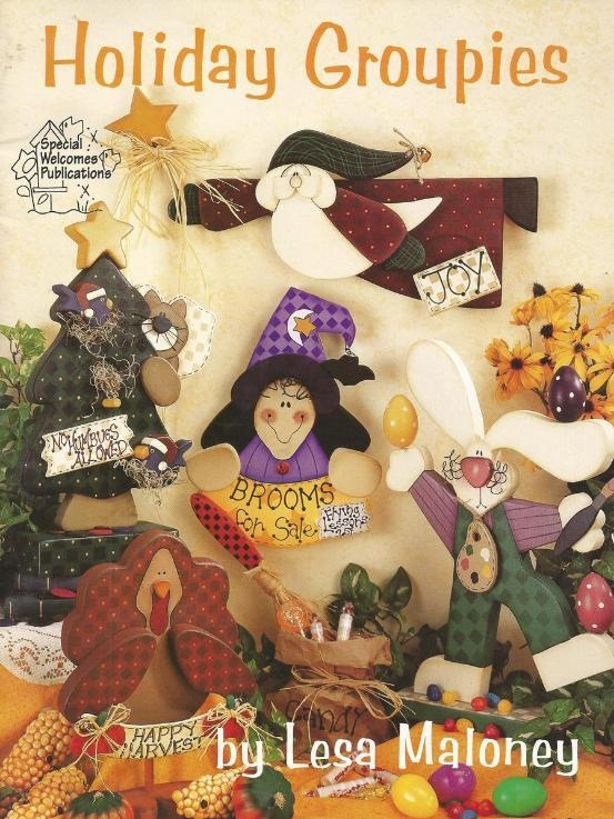 Holiday Groupies Decorative Tole Painting Craft BookCrafts Ideas, Crafts Book, Craft Books, Wood Crafts, Painting Crafts