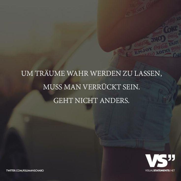 Um Träume wahr werden zu lassen... Word!!! ✌️