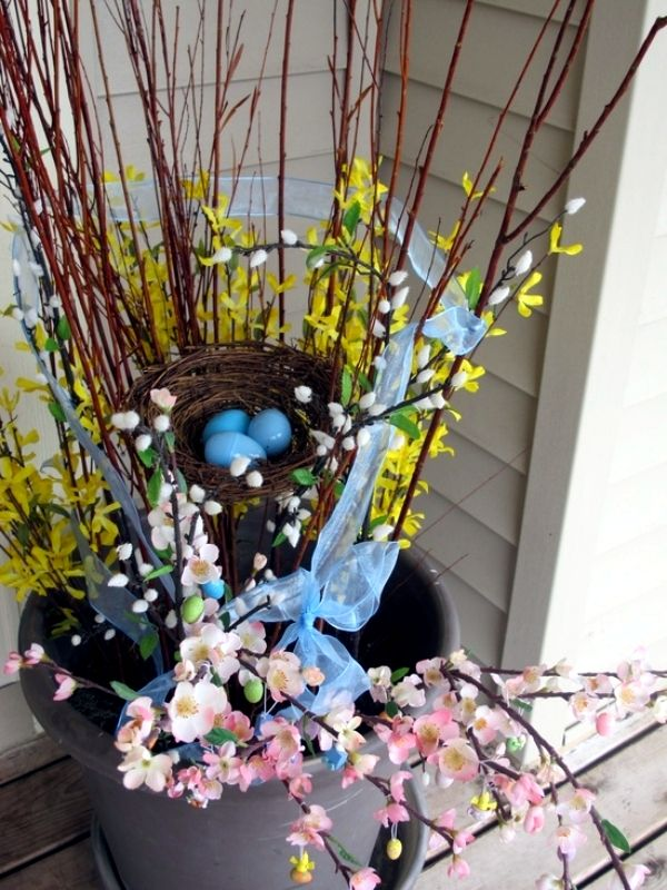 Best Outdoor Easter Decorations Ideas On Pinterest Happy