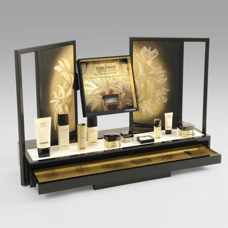 CHANEL Skincare Desktop Display Units 2017 popai awards