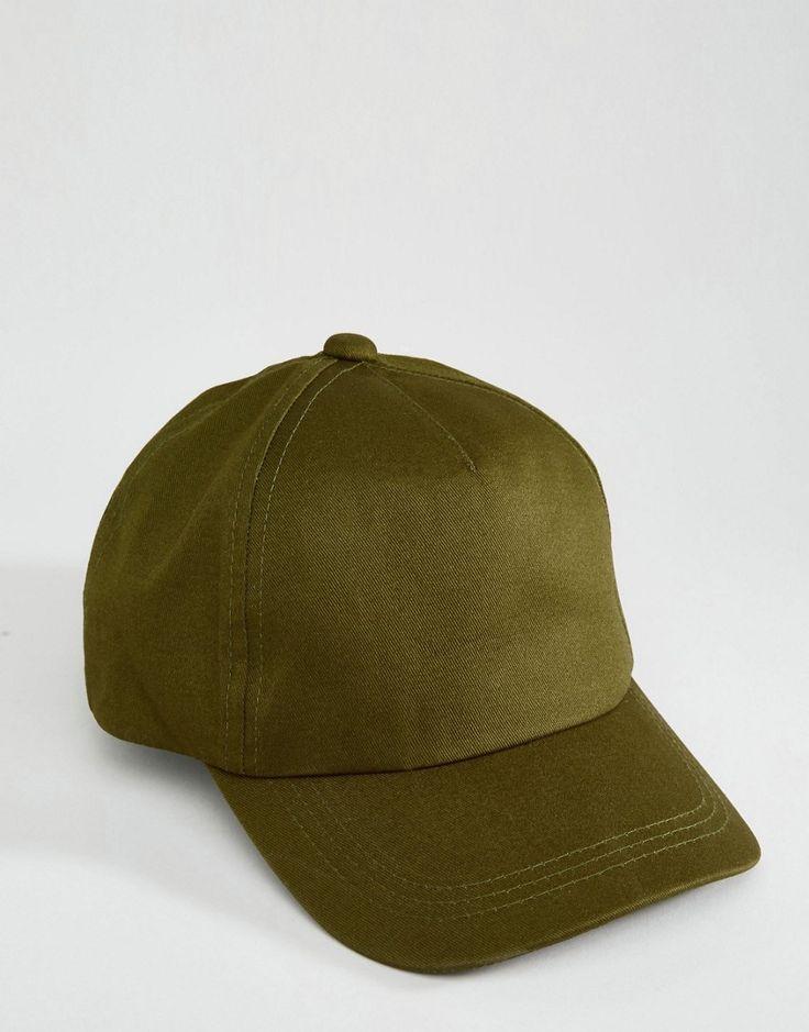 Image 3 ofASOS Plain Baseball Cap