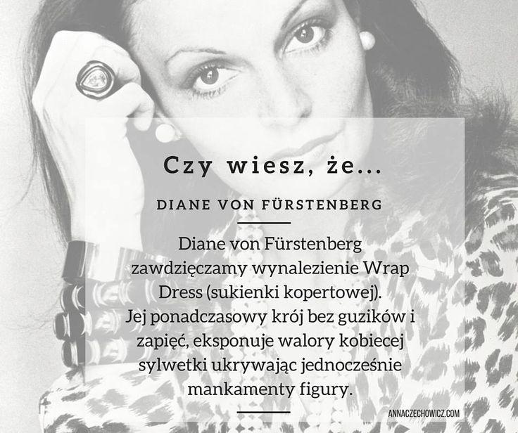 Czy wiesz, że... Diane von Fürstenberg. Sukienka kopertowa.
