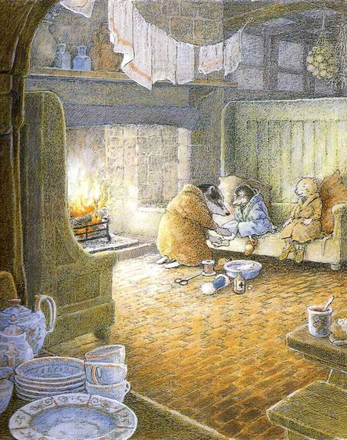 The Wind In the Willows: finding Badger's home in the Wild Wood is one of my favorite parts