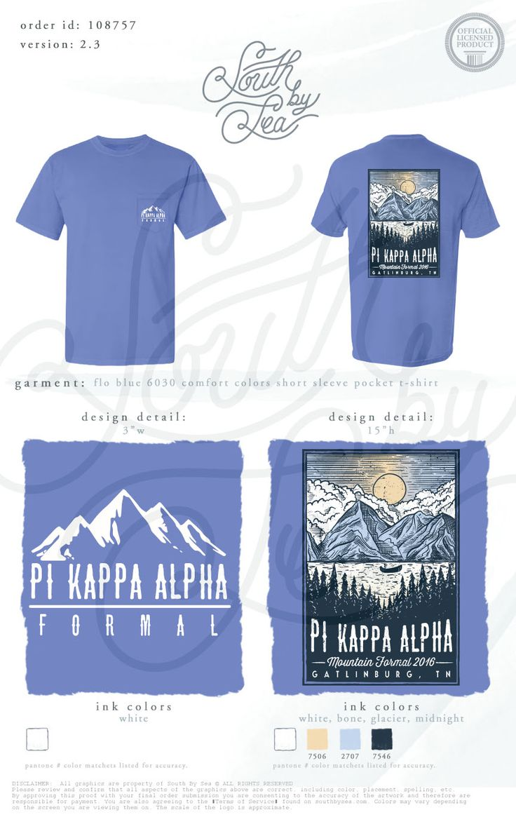 Design t shirt with front pocket - Pi Kappa Alpha Pike Formal Outdoor Mountain T Shirt Design South