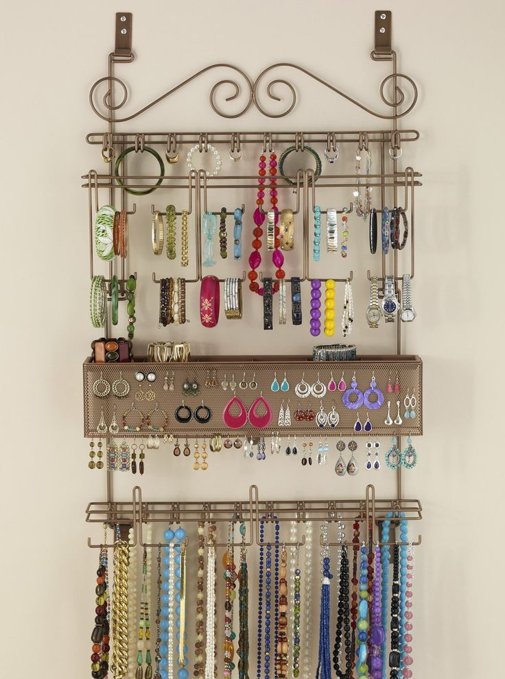 Best 25 Hanging Jewelry Organizer Ideas On Pinterest