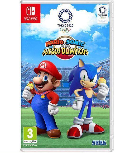 Mario Sonic En Los Juegos Olimpicos Tokio 2020 Solo 39 9 Nintendo Sonic Juegos Olimpicos