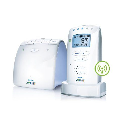 Philips SCD525/00 - Philips AVENT ECO DECT-Babyphone