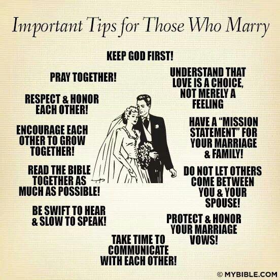 Marriage essentials