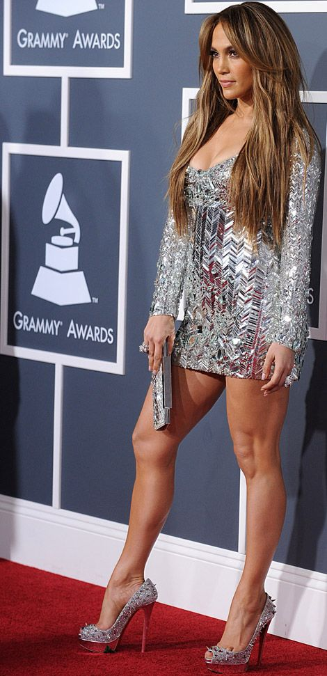 Jennifer Lopez is literally the only person who could pull off this Emilio Pucci dress...amazing!