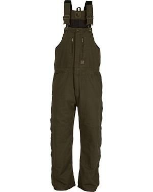Berne Original Washed Insulated Bib Overalls