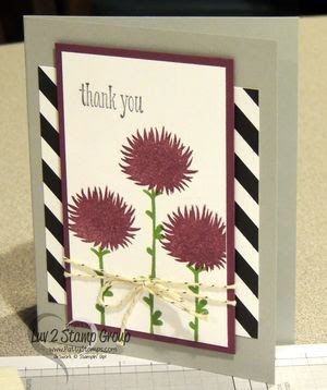 Stampin-up-irene-simple-stems: Cards Ideas, Cards Su Simple Stems, Stampin Up Simple Stems, A Su Simple Stems, Stems Cards, Thanks You Cards, Simple Stems Stampin Up Cards, Stampin Up Irene Simple Stems, Stems Stamps