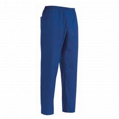 Pantalone Royal con coulisse. Tessuto 35% cotone, 65% poliestere. Disponibile nel colore BLU ROYAL.