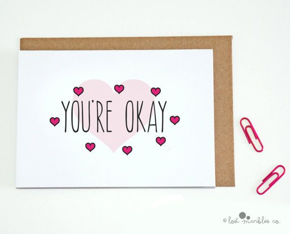 Funny Valentine's Card Love Card by Lost Marbles Co